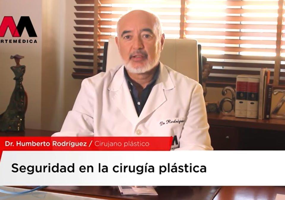 Vídeo de entrevista sobre seguridad en cirugía plástica al Doctor Humberto Rodríguez