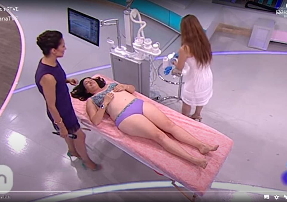 Tratamiento de Cyclone en RTVE