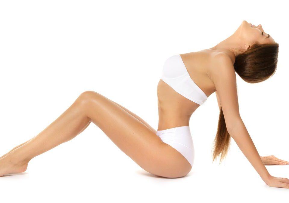 Cuerpo completo de mujer muy bonito